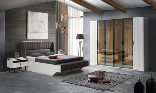 Komplettes Schlafzimmer Yilma mit Stauraumbett