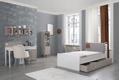 Titi Kinderzimmer 5-teilig Alpha mit Bett 100x200 cm