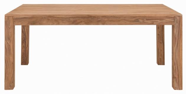 Esstisch Massivholz Natur Sanam 178x90 - Vorschau