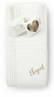 Almila Bettwäsche Set Elegant White 160x230
