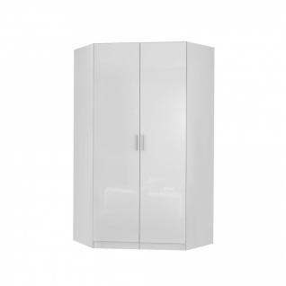 Eckschrank CELLE weiß / alpinweiß 117 x 210 x 117 cm