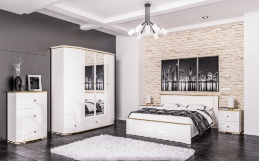 Schlafzimmer komplett Liberty 6-teilig 180x200