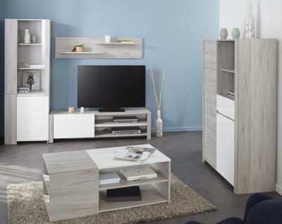 Modernes Wohnzimmer Lunero 5-teilig