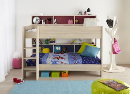 Etagenbett Für Zwei Kinder : Kinder etagenbett tesso in akazie kaufen bei möbel lux