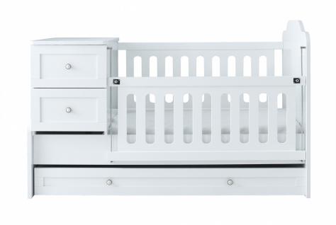 Mitwachsendes Babybett Panja 80x180
