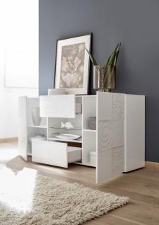 Sideboard Weiß mit Siebdruck Orim 2-türig - Vorschau 2