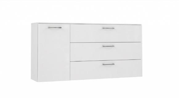 Sideboard in Weiß Buga mit Schubkästen