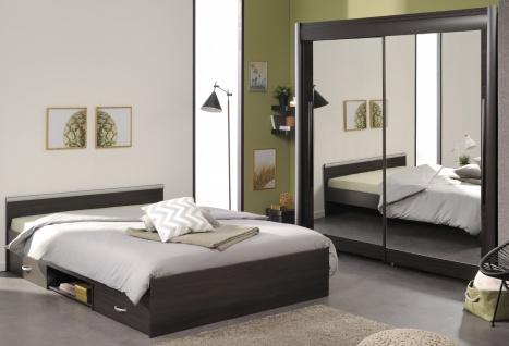 Parisot Celebrity Schlafzimmer Set in Kaffee 204x207x61