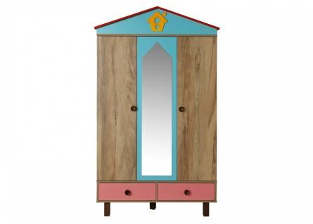 Kleiderschrank Dream House 3-türig mit Spiegel