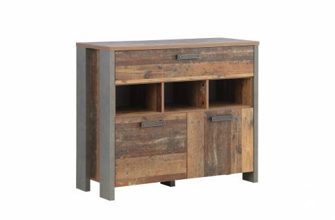 Kommode Cleo in Old Wood Vintage