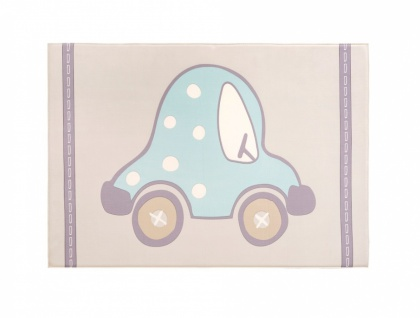 Cilek Kinderzimmer Teppich Auto 100x150