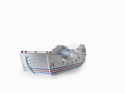 Titi Kinderbett Boot Marine Captain für kleine Seemänner