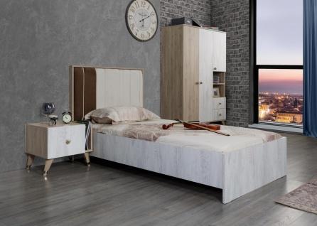 Jugendzimmer Set in modernem Design Flori 3-teilig - Vorschau 1