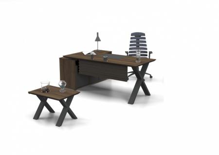 Büro Schreibtisch L-Form Vex L 160x80