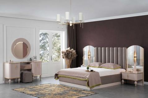 Lidya Schlafzimmer Set Pemi mit Stauraumbett 180x200