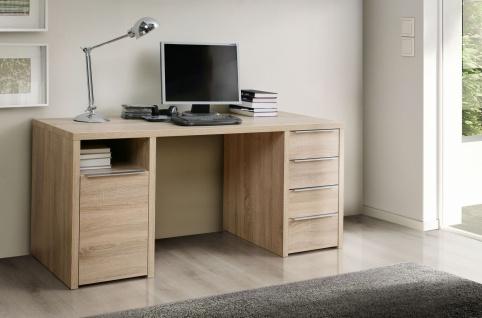 Schreibtisch in Sonoma Eiche Edoardo 1-türig