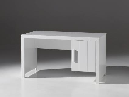 Richard Schreibtisch 137x70 Weiß