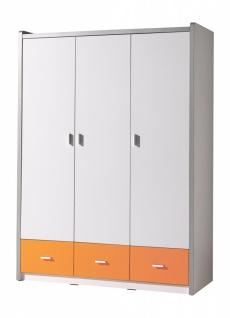 Bonny Kleiderschrank 3-türig in Orange
