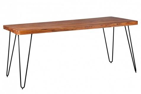 Sheesham Esstisch 180x 80x76 Küchentisch Massivholz