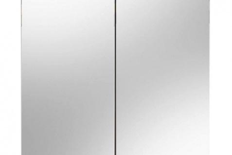 Spiegelschrank Colombo 2-türig Sardegna Silber