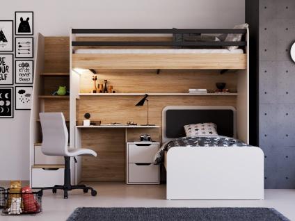 Jugendzimmer Set New Options mit Hochbett