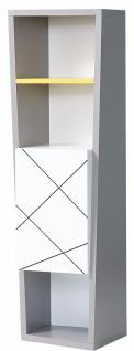 Almila Design Bücherregal Vector mit Tür