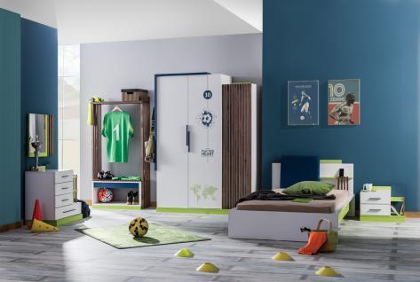 Kinderzimmer Fußball-Design Pancho 6-teilig