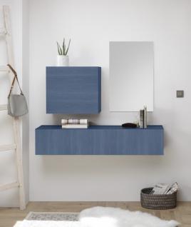 Garderoben Kombi Veldig 3-teilig in Blau