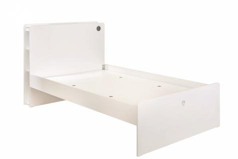 Cilek White Jugendbett mit USB 100x200 - Vorschau 2
