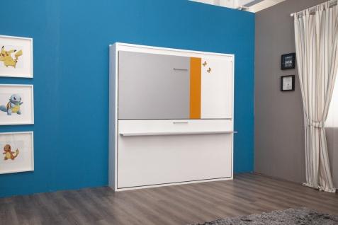 Multimo Etagenbett Diva Bunk in Weiß Grau Orange