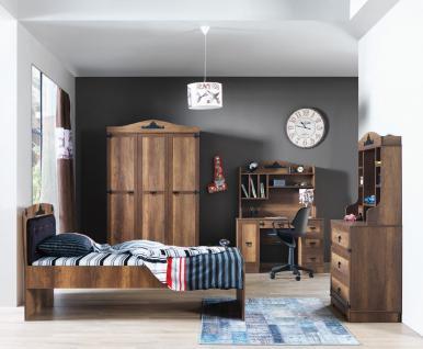 Kinderzimmer komplett Black Pearl 5-teilig