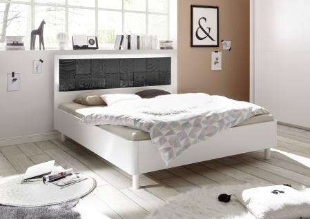 Design Bett in mehreren Ausführungen Xena