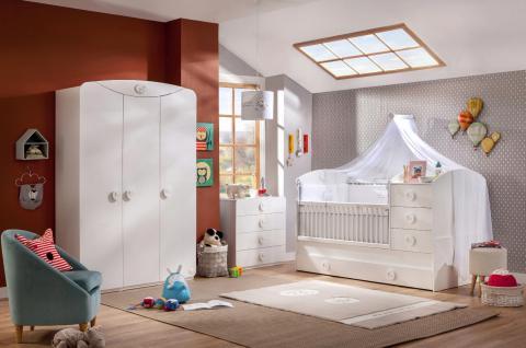 Cilek Baby Cotton Babybettwäscheset 8-teilig 80x130 - Vorschau 3