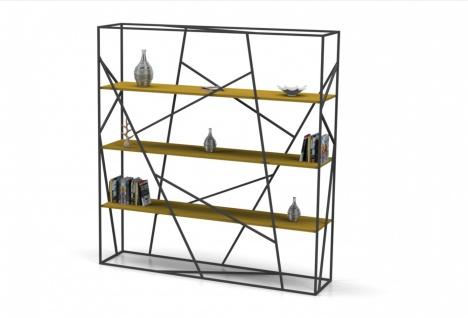 Design Bücherregal Slope mit viel Stauraum