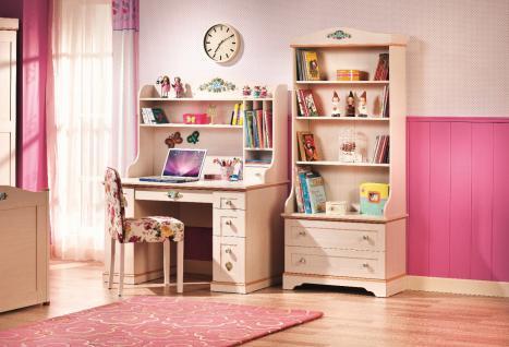 Cilek Flora Schreibtischset 3-teilig in Pink