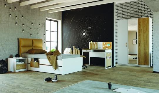 Jugendzimmer Set Novali in Weiß