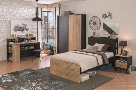 Cilek Black Jugendzimmer komplett Set 6-teilig