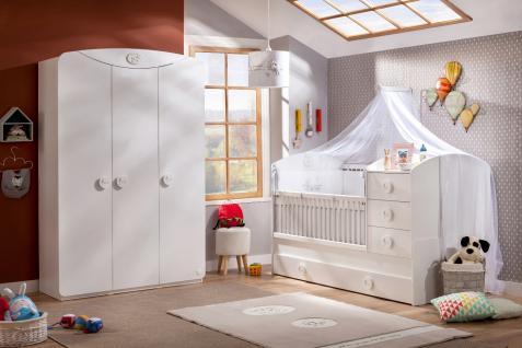 Cilek Baby Cotton Babyzimmerset mitwachsend 4-teilig