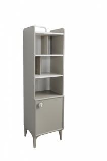 Bücherregal Alpha mit Tür und Soft-Close
