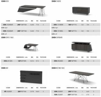 Büro Schreibtisch Xenon in modernem Design - Vorschau 3