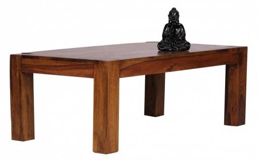 Sheesham Couchtisch Massiv 110 x 60 cm Massivholz