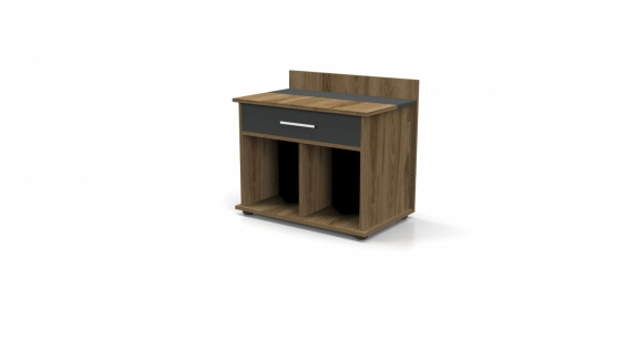 Büroeinrichtung Set Buton 3-teilig 180x80 - Vorschau 2