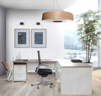 Schreibtisch Pinia Weiß Hedda in zwei Größen