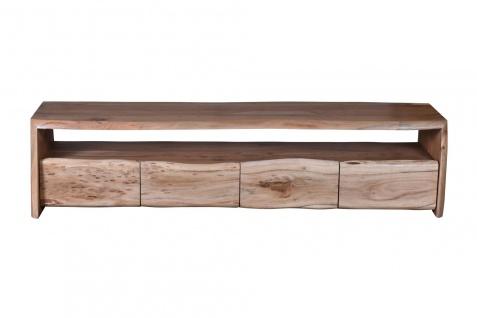 Sit TV Lowboard aus Akazie Massivholz Albero