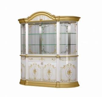 Vitrine Barock Stil Julianna 8-türig in Gold