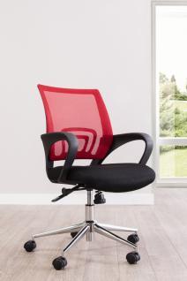 Cilek Komfort Drehstuhl mit roter Rücklehne
