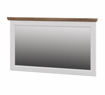 Neman Wandspiegel Tivoli 125x72 cm Landhausstil Weiß