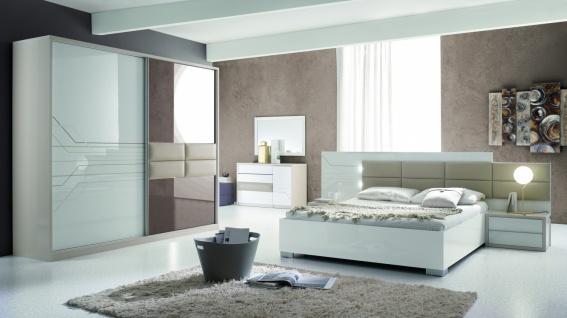 Italien Design Schlafzimmer Set Tizjana 4-teilig