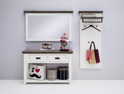 Seona Garderobenset 3-teilig in Akazie Weiß lackiert