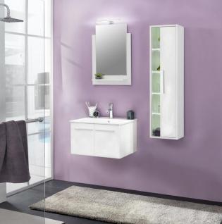 Badezimmer Set Jena 3-teilig in Weiß